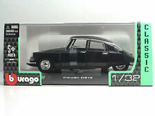 Bburago 43210 Citroen DS19 Nero (1955) - Metal Scala 1:32