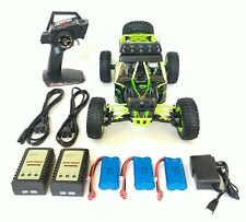 WLtoys 12428, 2.4GHz, 4WD, 3batteries, 3chargers, RC Off-road Car. USA dealer.