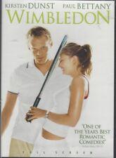 WIMBLEDON (DVD, 2004, Full Screen, Romantic, Kirsten Dunst, Paul Bettany) - NEW