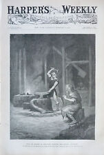 1897 Harper's Weekly Journal Magazine February 6, New York, North Pole, Cuba