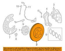 MERCEDES OEM 2015 C300 Front Brake-Disc Rotor 0004212712