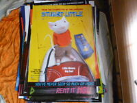 STUART LITTLE 1 SHEET DVD  MOVIE POSTER