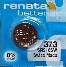 373 RENATA SR916SW SR68 SB-AJ WA V373 D373 617 GP313 Battery Authorized Seller
