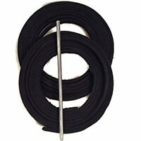 Baseball Glove Lacing Kit Black Guide 2 Leather Laces 72 Inches Long