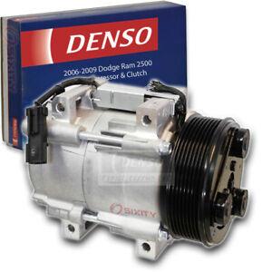 Denso AC Compressor & Clutch for 2006-2009 Dodge Ram 2500 5.9L 6.7L L6 fn