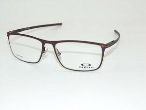OAKLEY TIE BAR OX5138-0355 Satin Corten Brown 55mm Titanium Authentic Eyeglasses