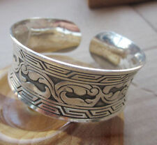 New Tibetan Tibet Silver Totem Bangle  and gift added
