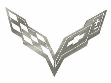 Corvette C7 Car Art Work Brushed Metal Wall Hanging Sculpture