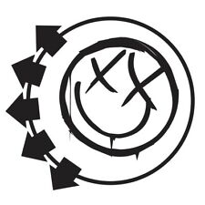 BLINK 182 SMILEY FACE DECAL VINYL STICKER BUY 2 GET 2 MORE FREE