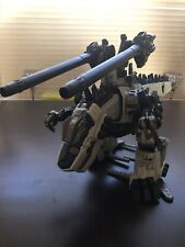 Tomy Zoids Gojulas Giga RZ-064 With Cannon Upgrade Kit And Extra Cannons