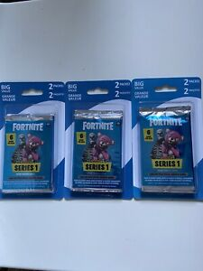 Fortnite Series 1 Trading Cards (6) Booster Packs Factory Sealed