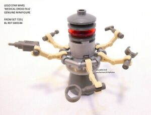LEGO STAR WARS MEDICAL DROID FX-6 MINIFIGURE EXCLUSIVE 7251 SW0144 MINT