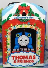 Thomas the Tank ornament set in case