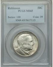 1936 Robinson Commemorative Silver Half Dollar - PCGS MS 65 - Mint State 65