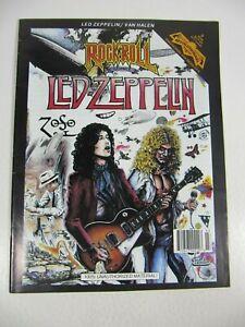 Rock n Roll comics #6 Led Zeppelin (Revolutionary comics March 1991) 1st Print