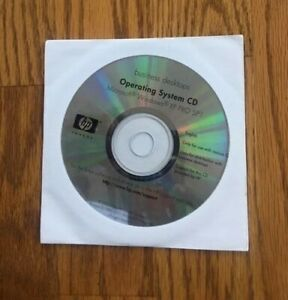 MS Windows XP PRO SP1 - Business desktops - OP CD - for HP -Brand New SEALED