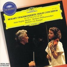 Mozart - Violin concertos No.3&5.Anne Sophie Mutter New CD Deutsche Grammophon