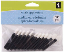 Inkadinkado 12 Chalk Applicators for Blending Decorating Chalks & Ink EK Success