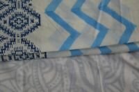 Indian 100% Cotton New Fabric Hand Block 2.5 Yard Women Dress Material By Craft