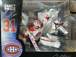 Carey Price Signature Edition NHL Figures 2-Figures With Signature Base