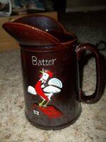 """VIntage ROOSTER Batter Pitcher 4 x 7"""""""