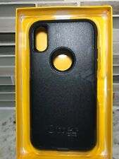 Otterbox Commuter Series Case for Apple iPhone X iPhone XS Black Defect See Phot