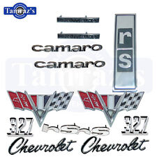 1967 Camaro 327 Rally Sport Emblem Kit RS New