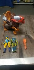 He man action figures lot MATTEL