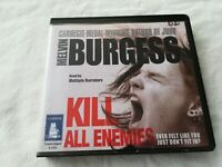 Melvin Burgess-Kill All Enemies CD audiobook 6 cd's unabridged 2011 6.75 hours g
