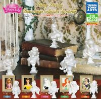 TAKARATOMY A.R.T.S Disney Princess bust All 5 set Gashapon mascot toys