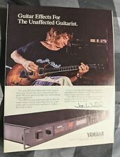 Joe Walsh / The Eagles / 1987 Yamaha Gep50 Guitar Effects Magazine Print Ad