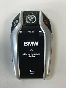 BMW SMART KEY TOUCHSCREEN REMOTE GENUINE OEM ORIGINAL FOB