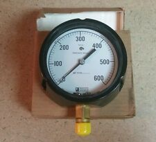 Weksler Instruments Phosphor Bronze Pressure Gauge 0 600 Steampunk