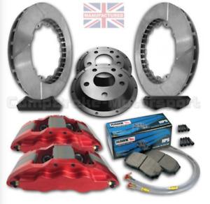 "Para Ford Fiesta MK7/8 18"" Freno Delantero Kit – 6POT Calibrador 350MMX32MM"
