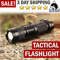 Tactical Flashlight LED Torch Light Police/Military Style GIFT for Men Kids Boy