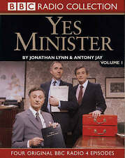Brand New & Sealed Yes Minister: Volume 1: by Jonathan Lynn, Antony Jay CD-Audio