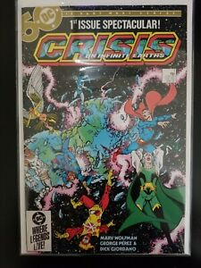 Crisis On Infinite Earths #1-12 ⛓️Avg NM- Death of Supergirl & Flash (15 books)