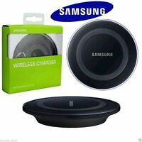 Genuine Wireless Qi Fast Charging Station PAD For Samsung Galaxy S8 S6 S7+ Black