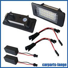 LED SET VW AUDI SEAT SKODA Kennzeichenbeleuchtung Kennzeichen Leuchte