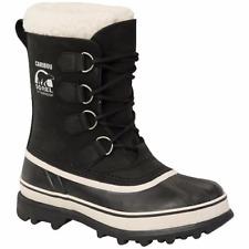 NIB! SOREL Women's Waterproof Caribou Boots BLACK, STONE - FAST SHIPPING! - SZ10