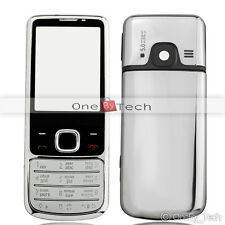 New Silver Metal Full Housing Fascia Cover Case For NOKIA 6700C 6700 Classic