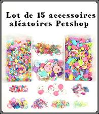 1 Sachet Littlest Petshop Lot 15 Accessoires Aléatoire : Nourriture... Pet Shop