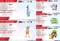 Isle of Armor SHINY GIGANTAMAX 6IV starters! Pokemon sw/sh