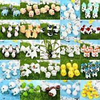 Cute Animals DIY Dollhouse Fairy Garden Ornament Landscape Craft Decor Miniature