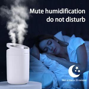 3L USB Air Humidifier Essential Oil Diffuser Home Frangrance Style B
