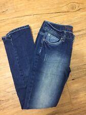 NWOT Juniors Mudd Dark Wash Straight Leg Jeans Size 5