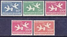 Guinea C17-21 MNH 1959 Doves with Letter and Olive Twig Full Set VF