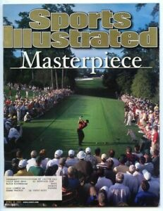 SI: Sports Illustrated April 16, 2001 Masterpiece: Tiger Woods, Golf, VERY GOOD