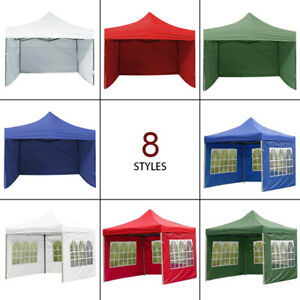 3mx2m Garden Outdoor Oxford Gazebo Marquee Party Tent Wedding Canopy Side Panel