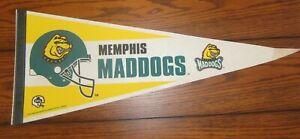 Memphis Maddogs 1995 CFL Football Pennant Rare